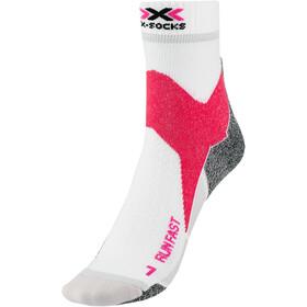 X-Socks Run Fast Strømper, hvid/pink
